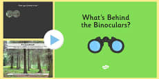 Habitats - What's Behind the Binoculars? PowerPoint Game