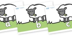 Phase 2 Phonemes on Sheep to Support Teaching on Pig in the Pond