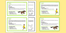 Foundation PE (Reception) - Skipping and Galloping Teacher Support Cards