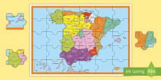 * NEW * Puzle: Las provincias de España Juego
