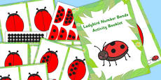 Ladybird Number Bonds Activity Booklet