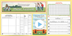 Year 6 Project Pack: Plan a Summer Music Festival Resource Pack