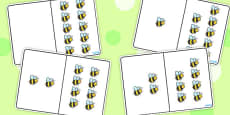 Bee Counting Number Bonds to 10