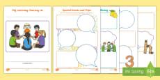 Nursery Learning Journey Sheets