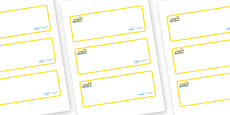 Gosling Themed Editable Drawer-Peg-Name Labels (Blank)