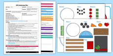 Snowman Shapes EYFS Adult Input Plan and Resource Pack