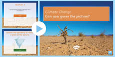 * NEW * Climate Change Quiz PowerPoint