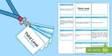 * NEW * CfE Third Level Information Handling Lanyard-Sized Benchmarks