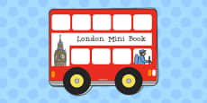 London Mini Book Template