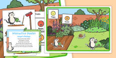 Jasper's Feelings Interactive Poster and Resource Pack to Support Teaching on Jasper's Beanstalk