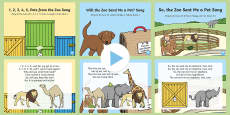 * NEW * Songs and Rhymes PowerPoints Pack to Support Teaching on Dear Zoo