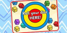 Dice Rolling Game Mat