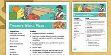 Treasure Island Pizza Recipe
