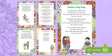 * NEW * Mother's Day Verse Inserts for Cards