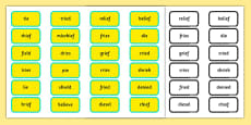 Alternative Pronunciation of IE Sorting Game