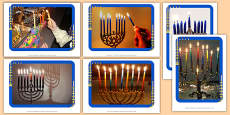 Menorah Display Photos