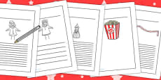 Punch and Judy Writing Frames