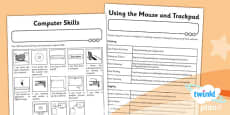 PlanIt - Computing Year 1 - Computer Skills Unit Home Learning Task