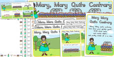 Mary, Mary Quite Contrary Resource Pack (Australia)