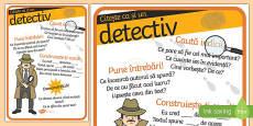 Fii un cititor detectiv! Planșă