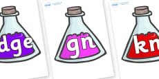 Silent Letters on Potions