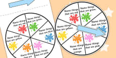 Colour Category Spinner