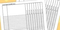 Editable Excel Checklist