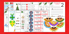 EYFS Christmas Maths Activity Pack
