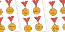 Classroom Award Medals