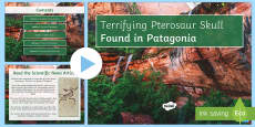 Terrifying Pterosaurs: Classification PowerPoint