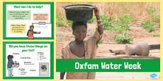 Oxfam Water Week PowerPoint