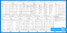 Basic Facts Test Set 1 Stages 3 -  8 Assessment Pack Go Respond  Activity Sheets