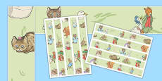 Beatrix Potter Display Borders