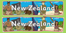 New Zealand Display Banner