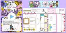 * NEW * Mother's Day K-2 Resource Pack