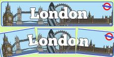 London Display Banner