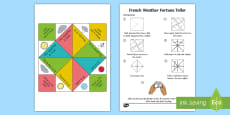 Weather Fortune Teller Activity
