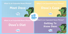 * NEW * SPaG-tastic!: Getting to Know Dave (What Is an Expanded Noun Phrase?) KS2 Video Pack