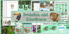 PlanIt - Science Year 6 - Evolution and Inheritance Additional Resources