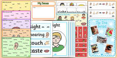 All About Me: My Senses Resource Pack KS1