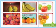 * NEW * Fructe Jetoane cu imagini