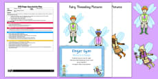 EYFS Fairies in a Tangle Finger Gym Plan and Prompt Card Pack
