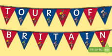 Tour of Britain Display Bunting