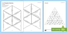 Diet Triangular Dominoes