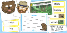 Bear Hunt Story Sack Resource Pack
