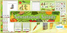 PlanIt - D&T KS1 - Sensational Salads Unit Additional Resources