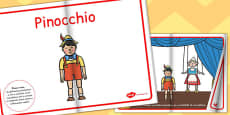 Pinocchio eBook EAL Romanian