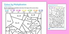 Colour by Multiplication Mandarin Chinese Translation