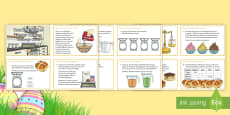 * NEW * LKS2 Maths Reading Scales Easter Baking Challenge Cards