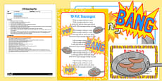 10 Fat Sausages EYFS Busy Bag Plan
